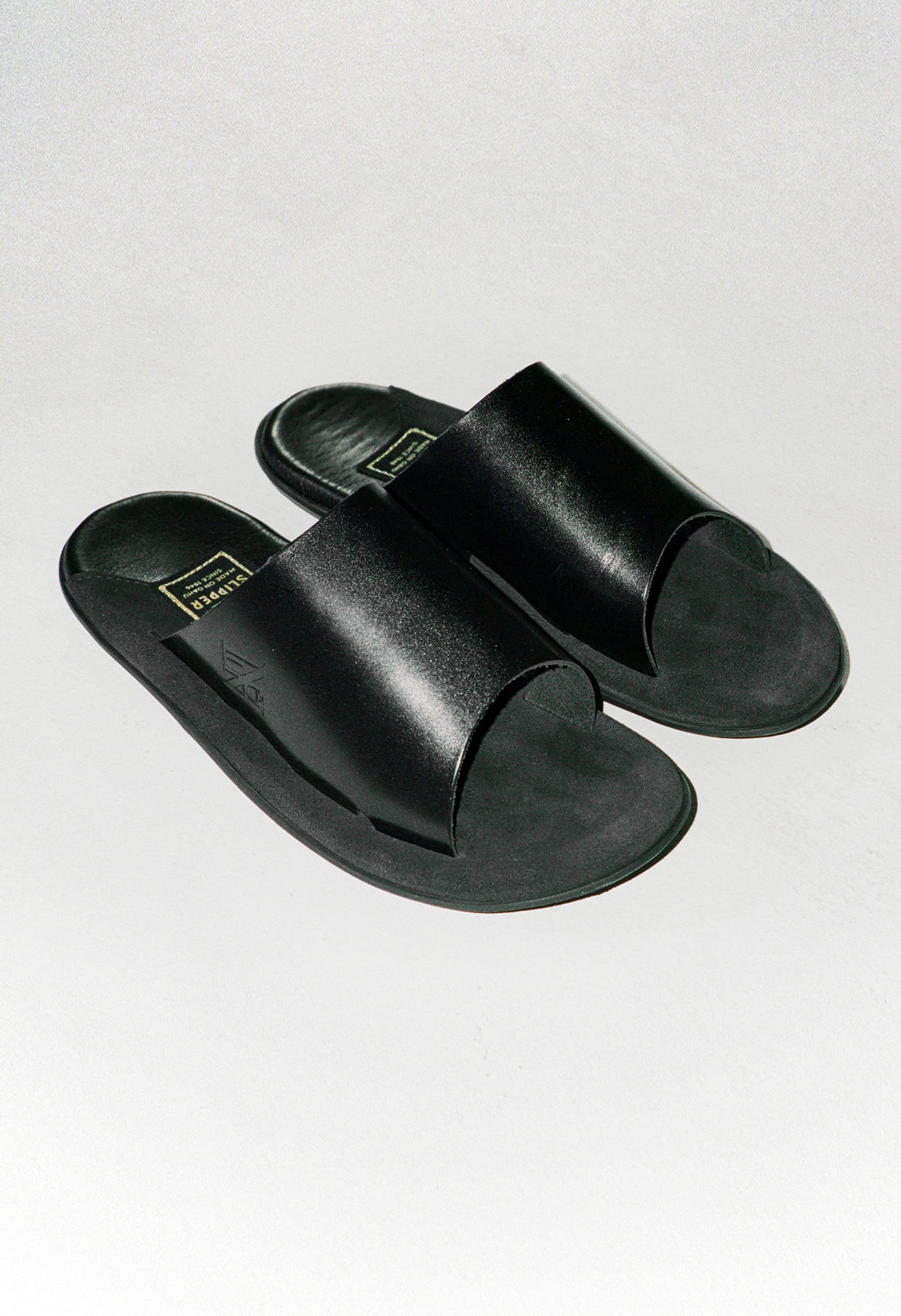 [Nueque X Island Slipper] Slide Black