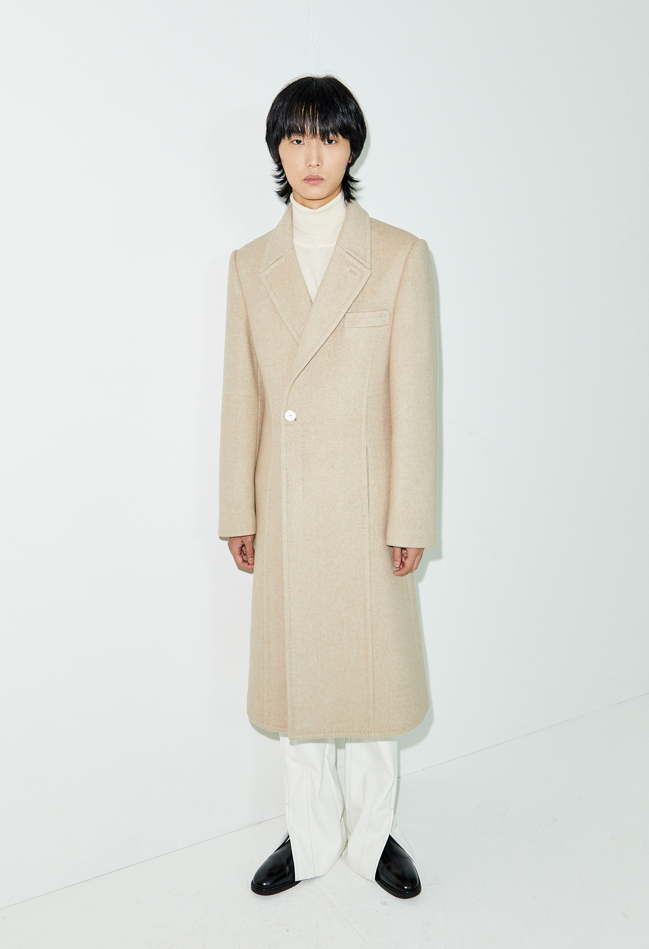 Herringbone Long coat